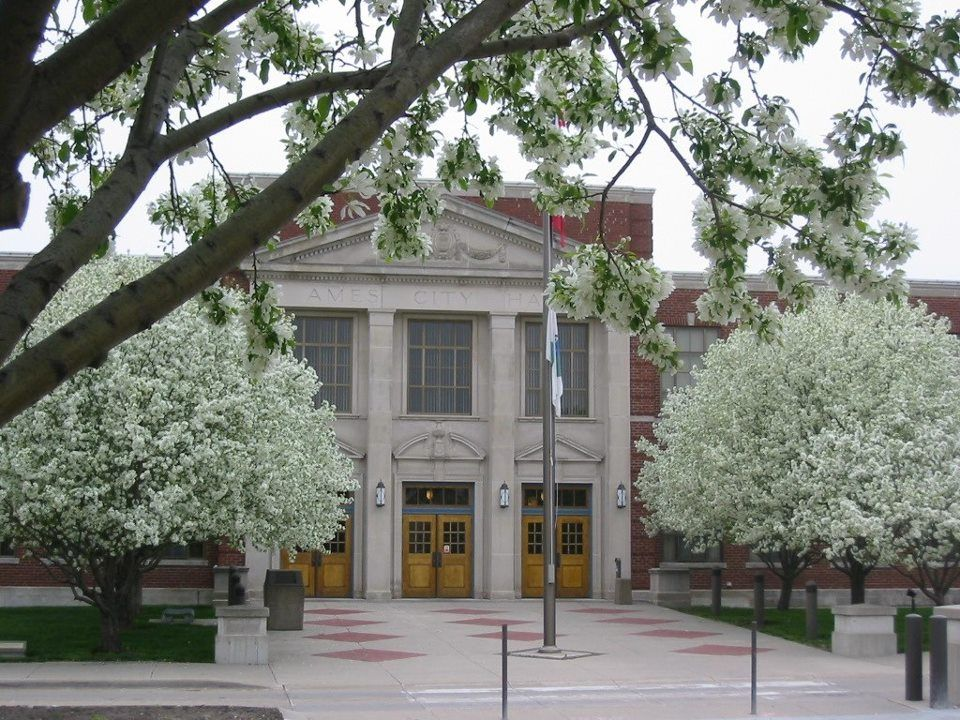City Hall in Ames