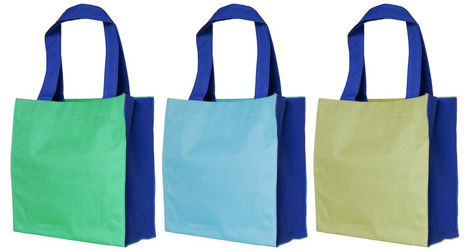colorful cotton shopping bag