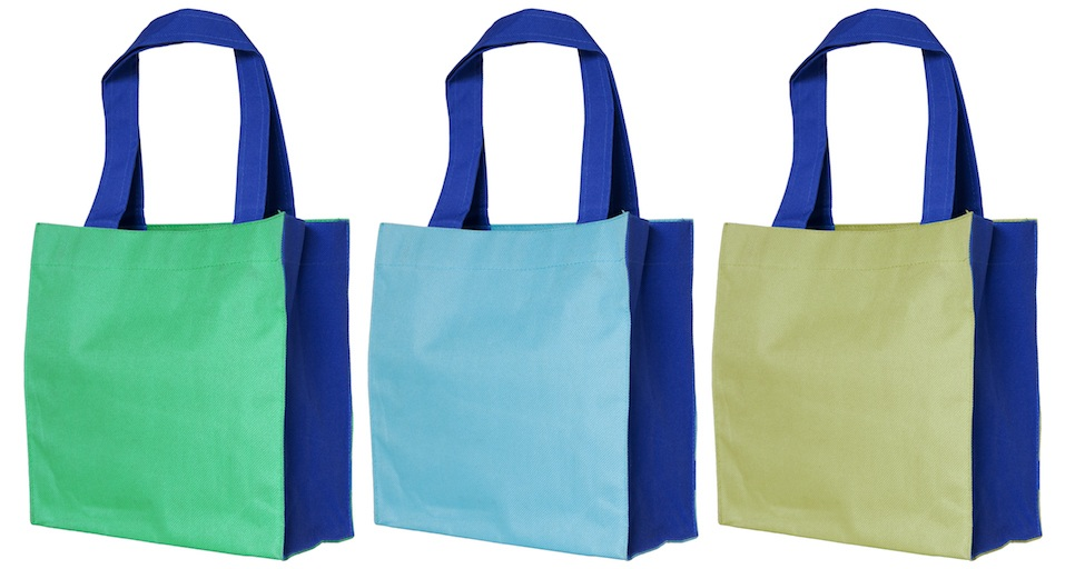 colorful cotton shopping bag