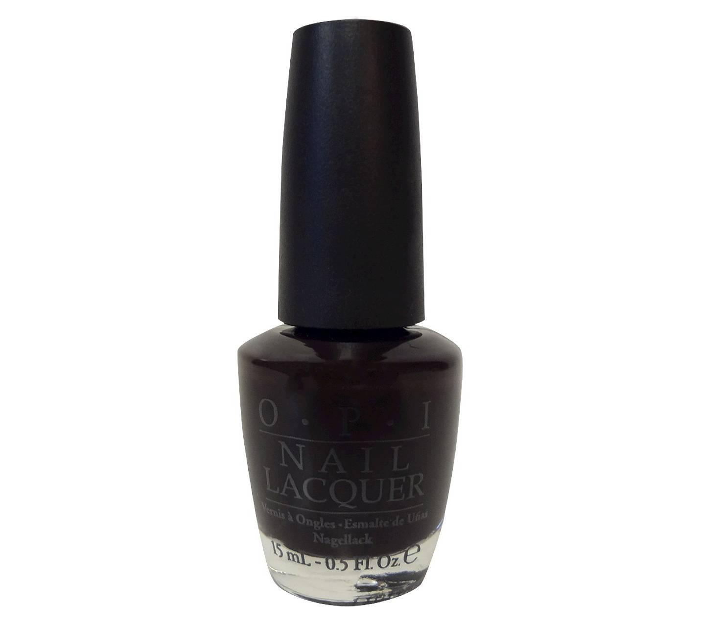 Deep purple nail polish