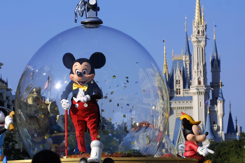 Mickey in the Walt Disney World Parade
