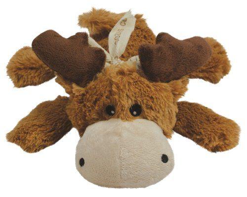 Moose dog squeak toy