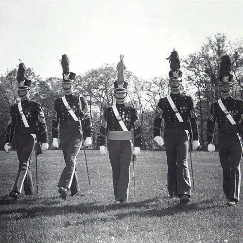 donald trump in military school