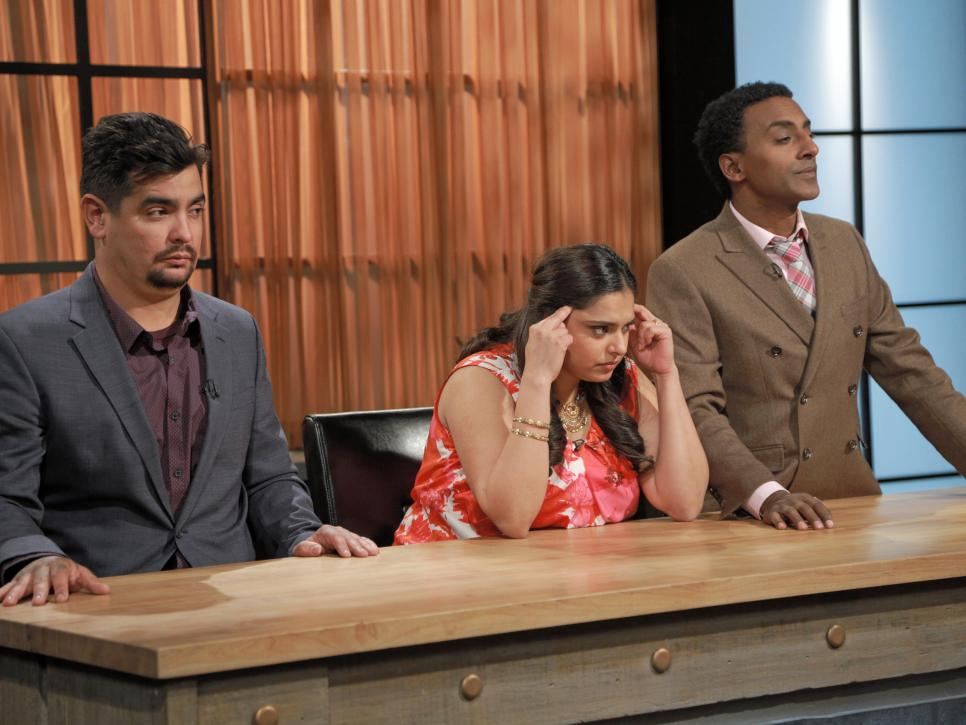 Chopped judges