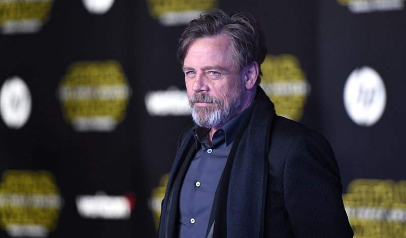 Mark Hamill at the premiere of Star Wars: The Force Awakens