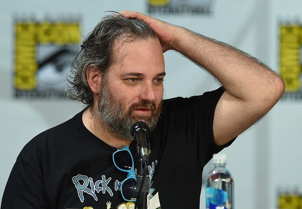 Dan Harmon at Comic-Con 2014