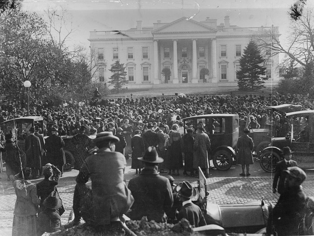 The White House in 1918