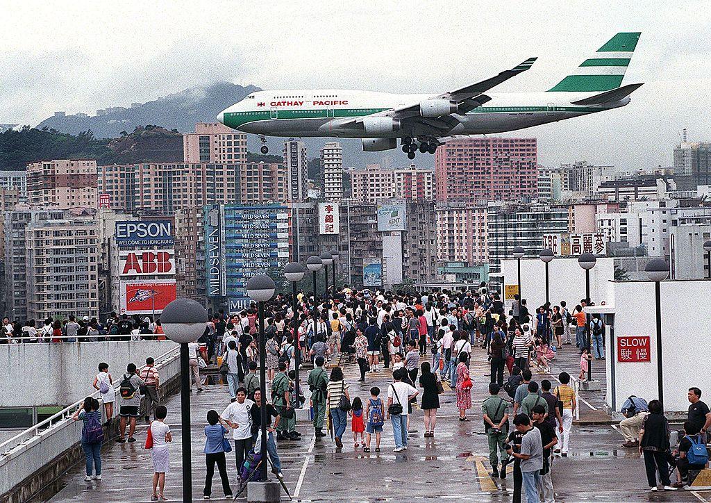 cathay pacific jet Hong Kong