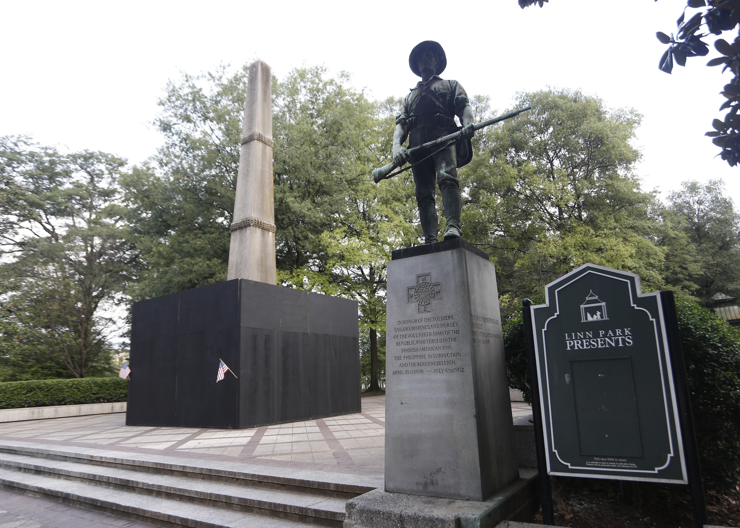 Linn Park Confederate Memorial