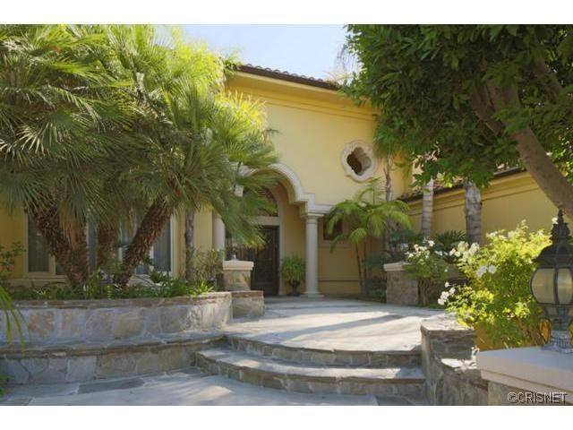 Calabasas home of Marla Maples