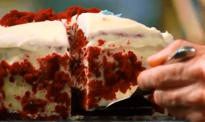 Red velvet cake fail masterchef
