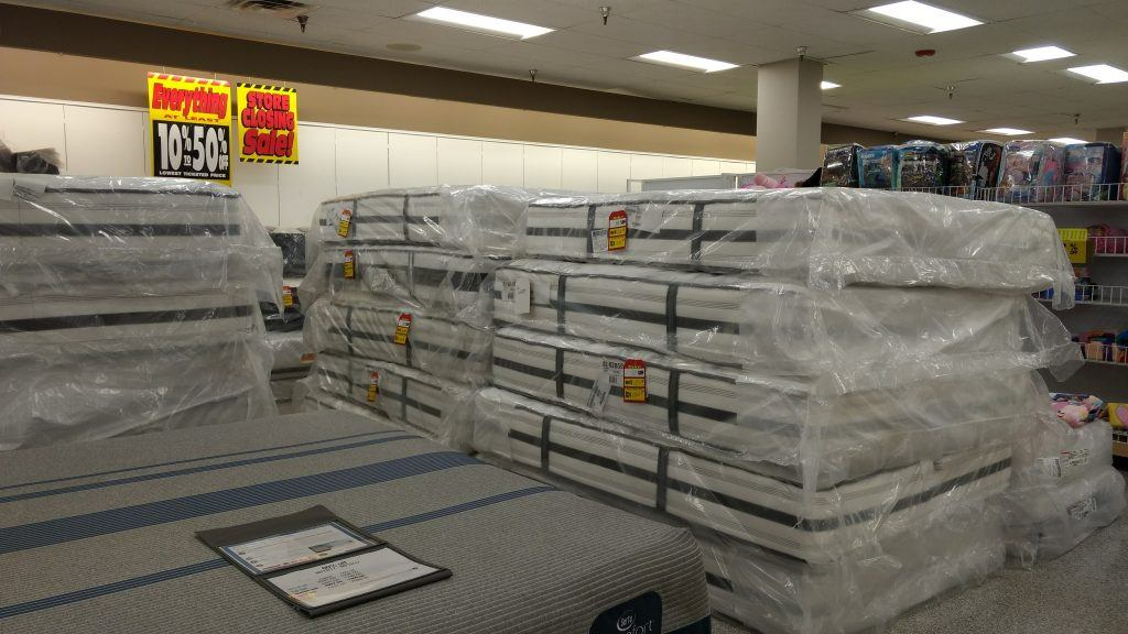 stack of mattresses