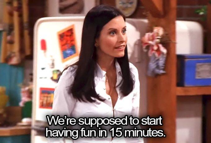Monica Geller from Friends