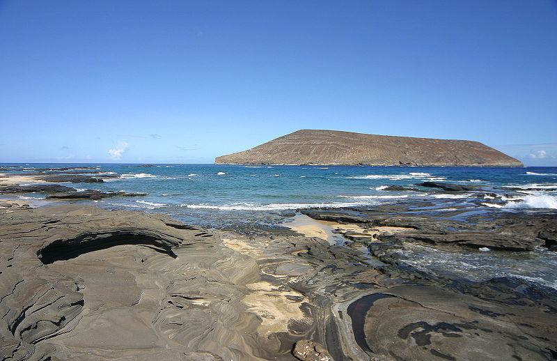 View from Niihau beach