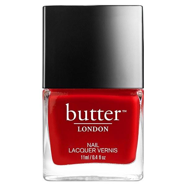 Classic red nail polish