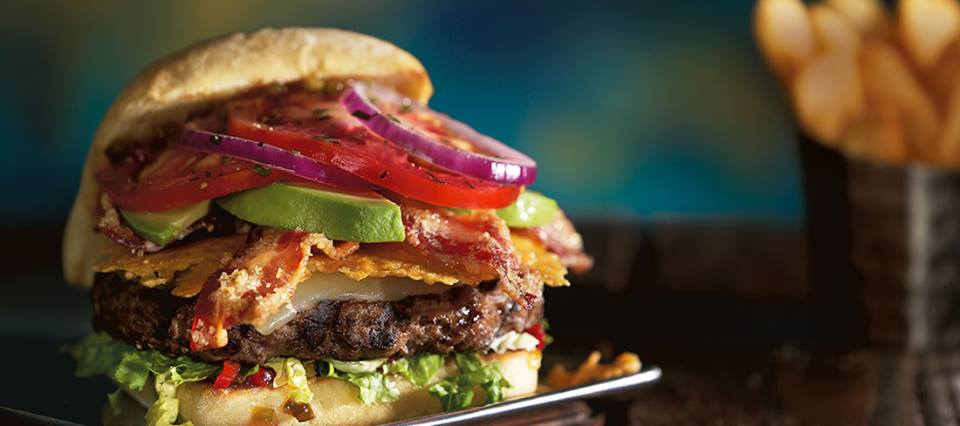 The MadLove burger from Red Robin
