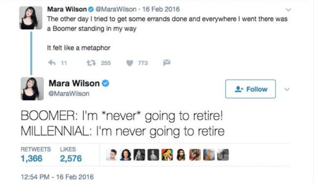 tweet about retirement