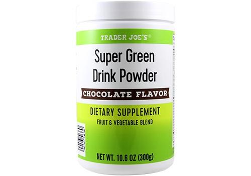 Trader Joe S Super Green Drink Chocolate