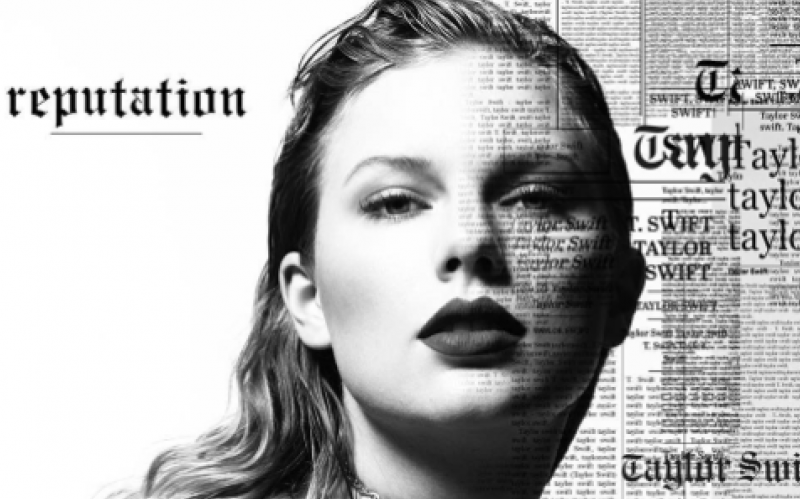 The cover of Taylor Swift's new album, Reputation