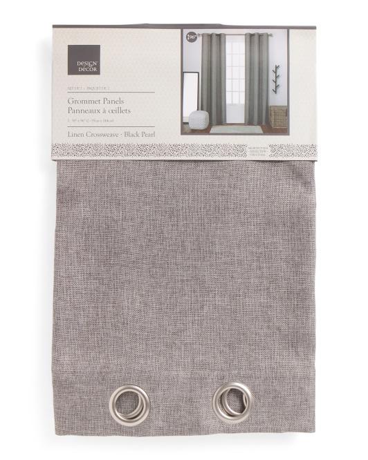 Gray Linen curtains