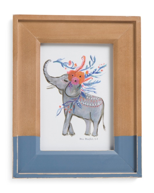 Wooden picture frame from T.J. Maxx