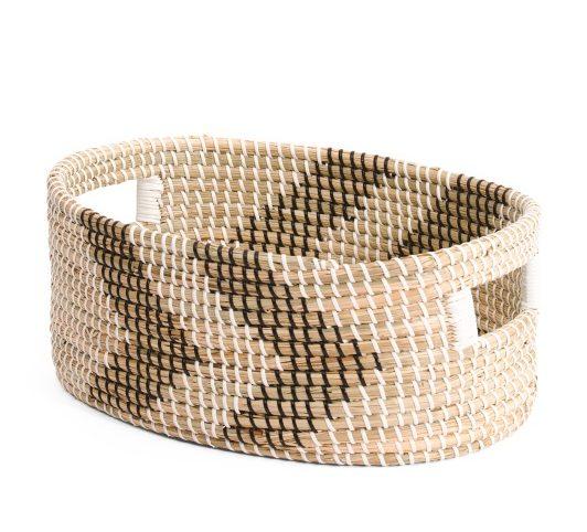 Natural storage basket