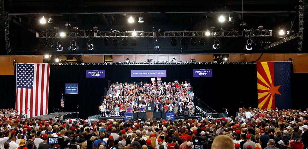 rally in Phoenix