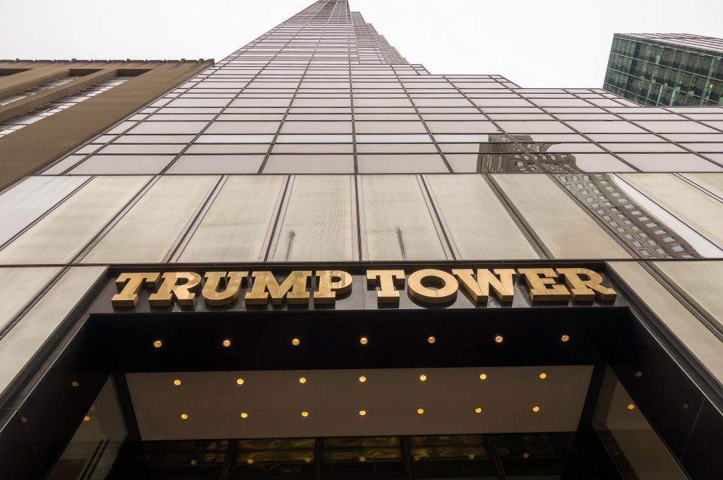 Trump Tower in NYC
