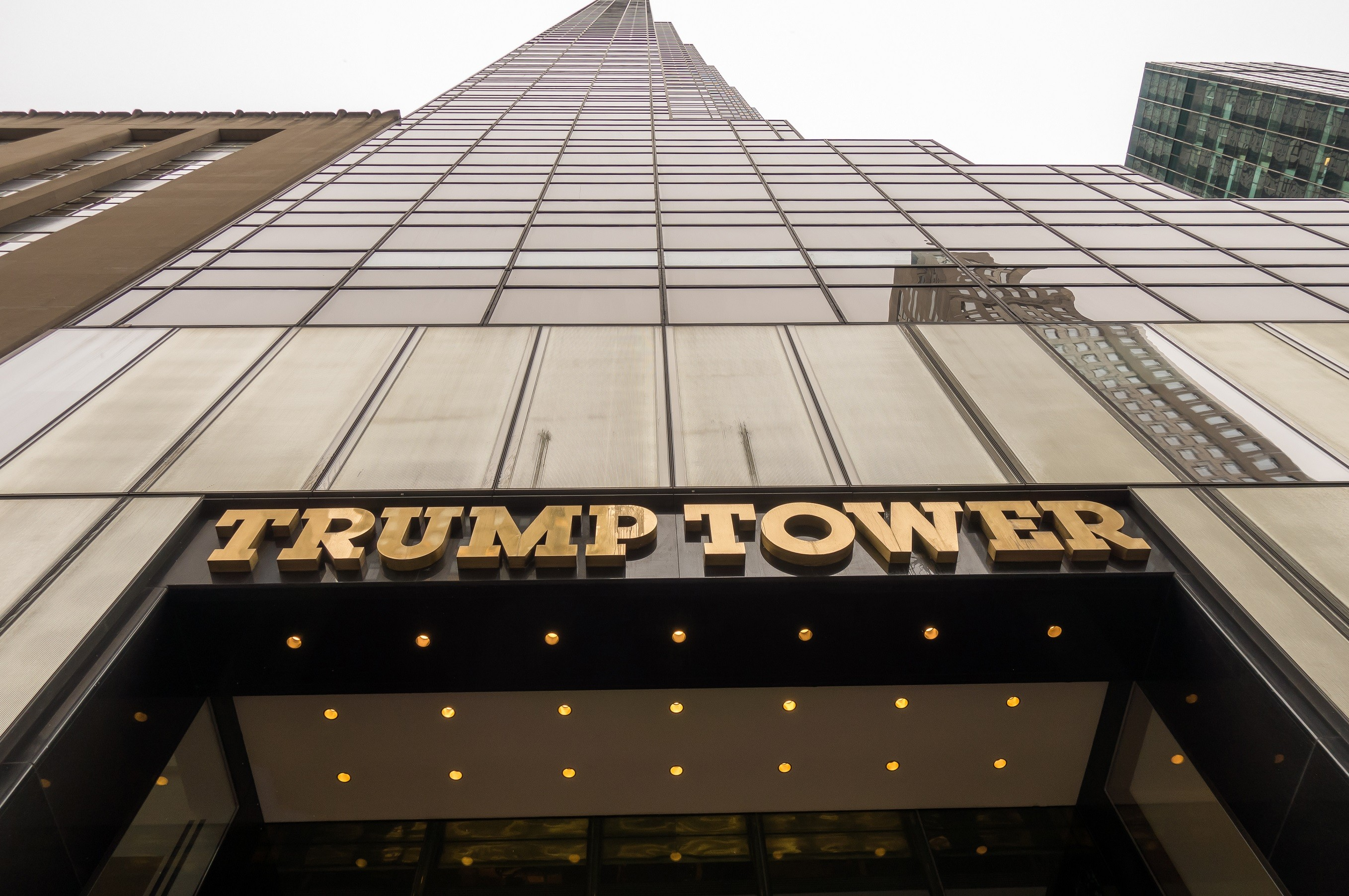 exterior of Trump Tower in New York City