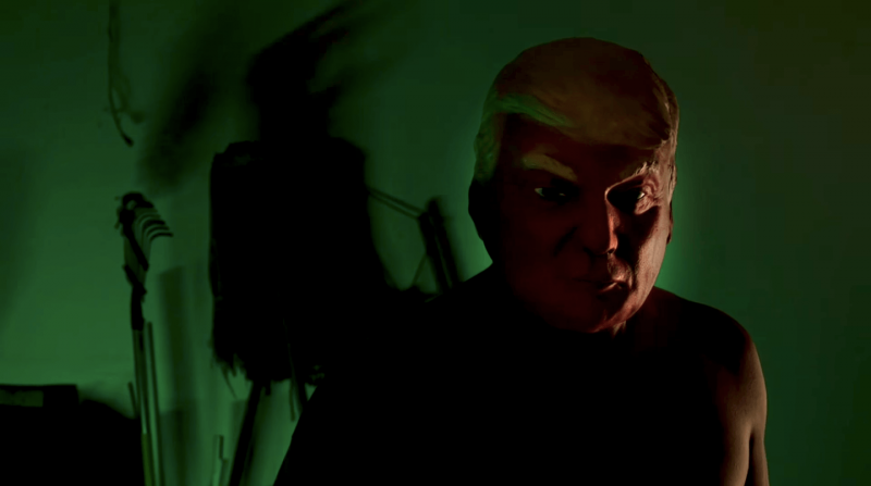 Donald Trump mask in American Horror Story Cult