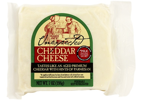 Unexpected Cheddar Trader Joe's