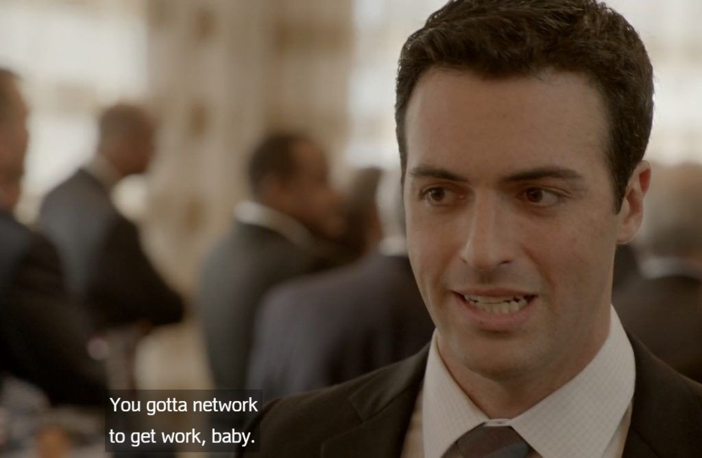 Dan Egan HBO's VEEP on networking