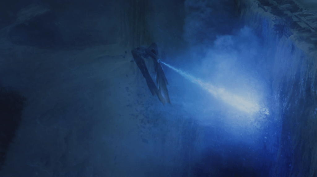 The Wall is destroyed on Game of Thrones by a Dragon