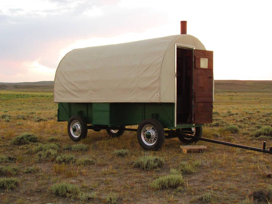 1920s sheep wagon