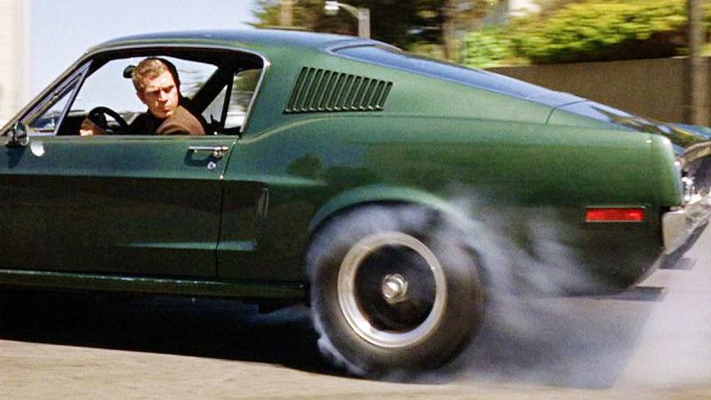 1968 Ford Mustang in Bullitt