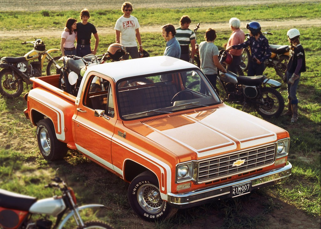 1976 Chevrolet C/10 Stepside Pickup