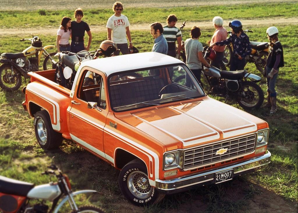 Chevrolet C/10 Stepside Pickup