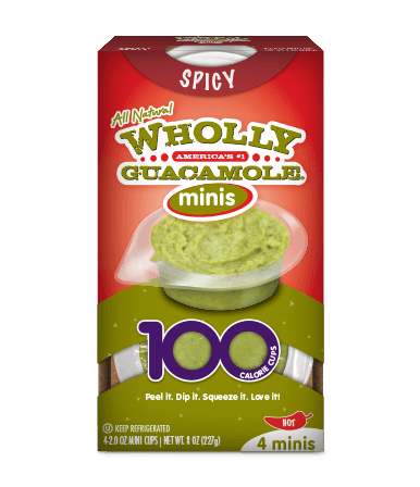 Wholly guacamole mini