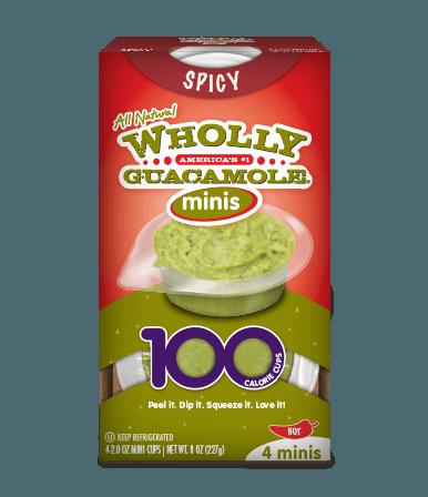 Wholly guacamole mini