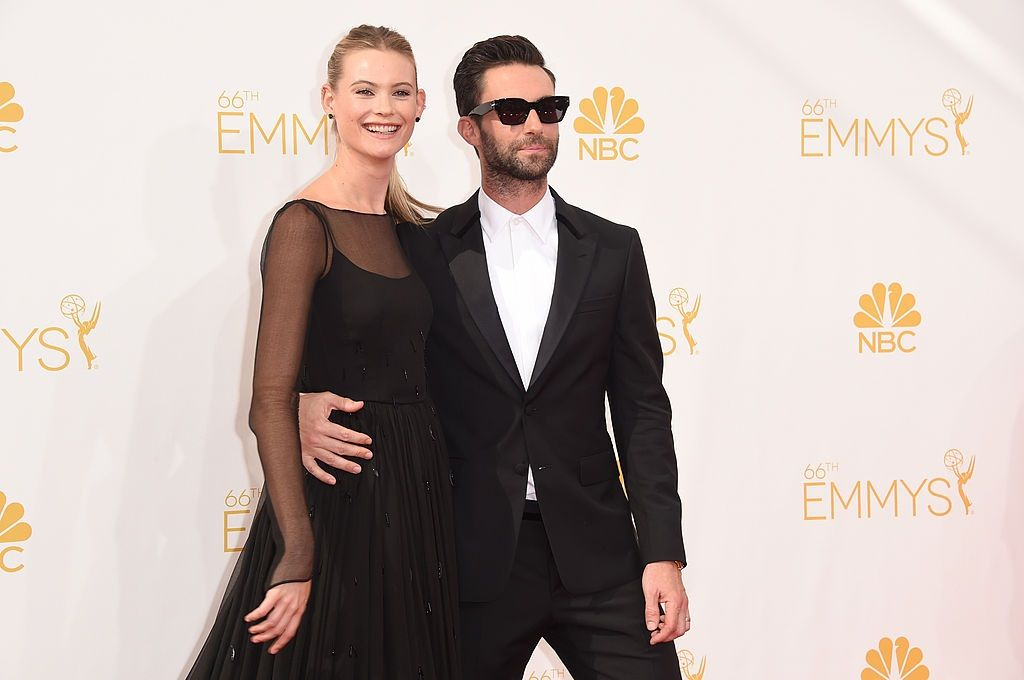 Singer Adam Levine and model Behati Prinsloo