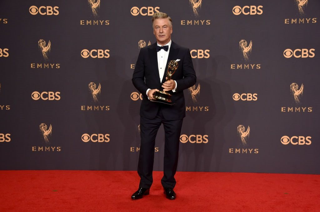 Alec Baldwin at the Emmy Awards