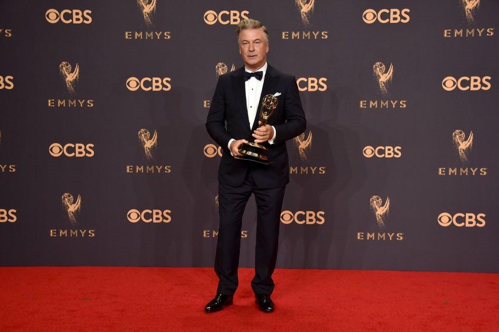 Alec Baldwin at the Emmy Awards