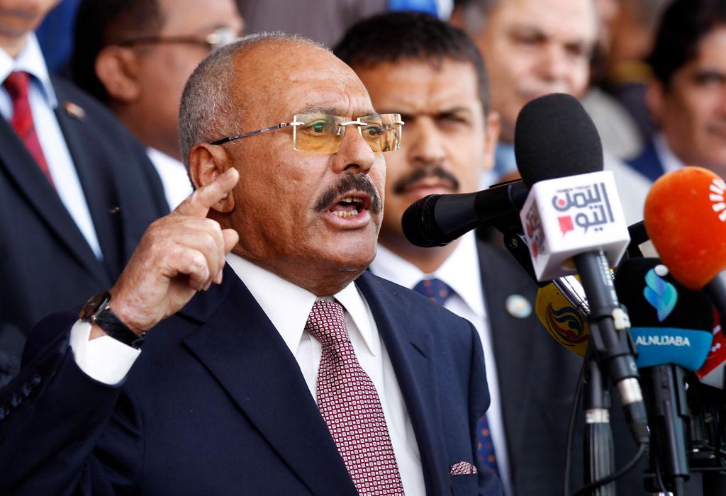 Ali Abdullah Saleh of Yemen