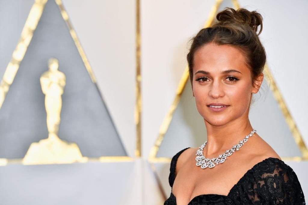 Actress Alicia Vikander
