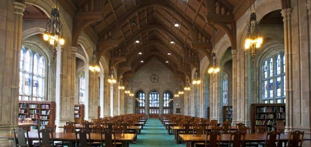 Bapst Library at Boston College
