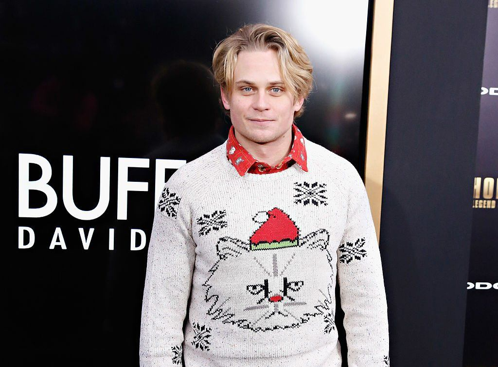 Billy Magnussen at the premiere of Anchorman 2