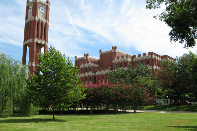 Bizzell Memorial Library at the University of Oklahoma