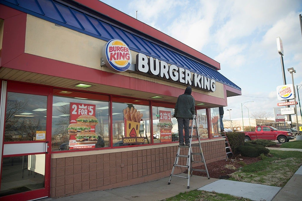 Burger King in Chicago