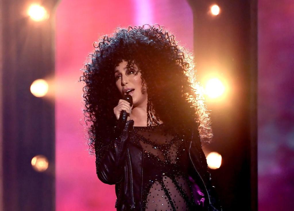 Actress/singer Cher