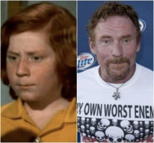Danny Bonaduce as a child star and as an adult.